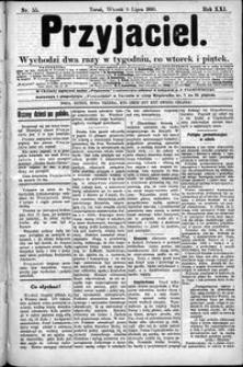 Przyjaciel : pismo dla ludu 1895 nr 55