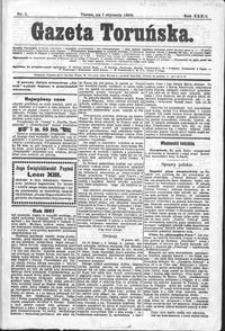 Gazeta Toruńska 1898, R. 32 nr 1