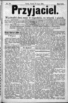 Przyjaciel : pismo dla ludu 1895 nr 58