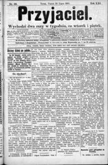 Przyjaciel : pismo dla ludu 1895 nr 60