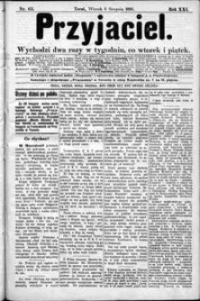 Przyjaciel : pismo dla ludu 1895 nr 63