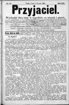 Przyjaciel : pismo dla ludu 1895 nr 64