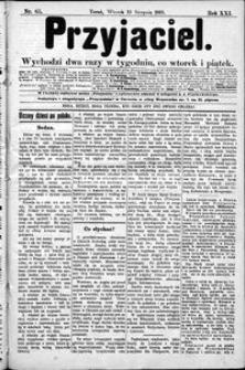 Przyjaciel : pismo dla ludu 1895 nr 65