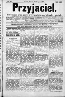 Przyjaciel : pismo dla ludu 1895 nr 67