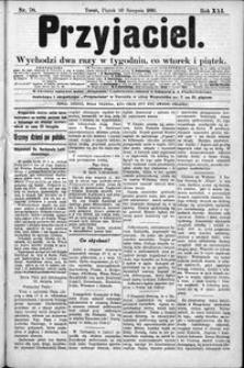 Przyjaciel : pismo dla ludu 1895 nr 70