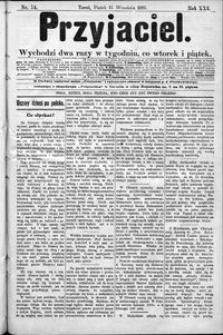 Przyjaciel : pismo dla ludu 1895 nr 74