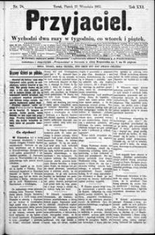 Przyjaciel : pismo dla ludu 1895 nr 78