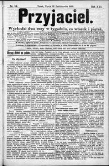 Przyjaciel : pismo dla ludu 1895 nr 84