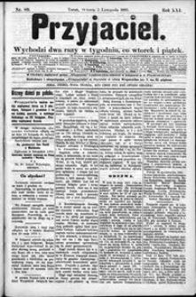 Przyjaciel : pismo dla ludu 1895 nr 89