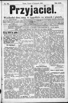 Przyjaciel : pismo dla ludu 1895 nr 90