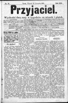 Przyjaciel : pismo dla ludu 1895 nr 91