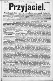 Przyjaciel : pismo dla ludu 1895 nr 97