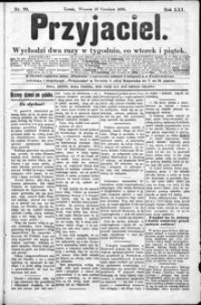 Przyjaciel : pismo dla ludu 1895 nr 99