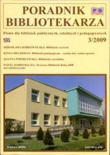 Poradnik Bibliotekarza 2009, nr 3