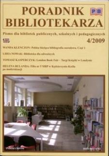 Poradnik Bibliotekarza 2009, nr 4