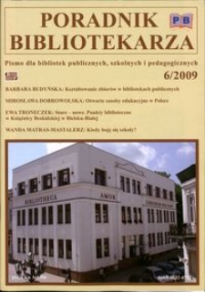 Poradnik Bibliotekarza 2009, nr 6