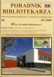 Poradnik Bibliotekarza 2009, nr 10
