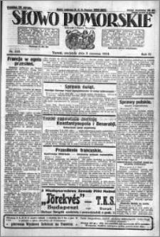 Słowo Pomorskie 1924.06.08 R.4 nr 133