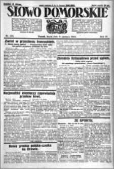 Słowo Pomorskie 1924.06.11 R.4 nr 134