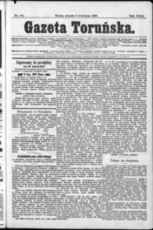 Gazeta Toruńska 1897, R. 31 nr 78