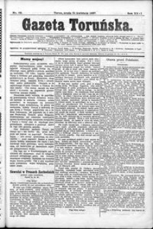 Gazeta Toruńska 1897, R. 31 nr 89