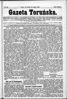 Gazeta Toruńska 1898, R. 32 nr 43