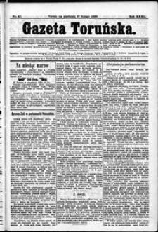 Gazeta Toruńska 1898, R. 32 nr 47