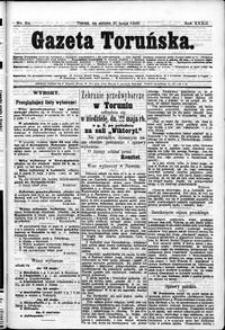 Gazeta Toruńska 1898, R. 32 nr 114