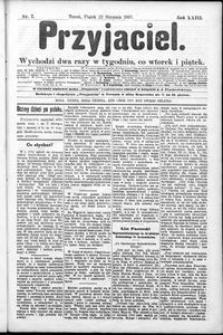 Przyjaciel : pismo dla ludu 1897 nr 7