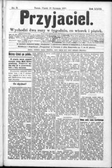 Przyjaciel : pismo dla ludu 1897 nr 9