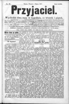 Przyjaciel : pismo dla ludu 1897 nr 18