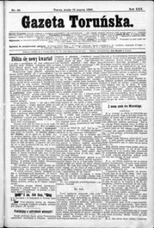 Gazeta Toruńska 1896, Marzec