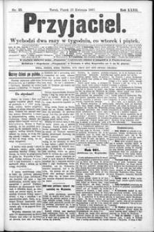 Przyjaciel : pismo dla ludu 1897 nr 33