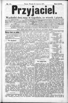Przyjaciel : pismo dla ludu 1897 nr 48