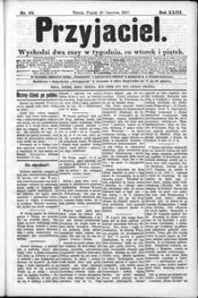 Przyjaciel : pismo dla ludu 1897 nr 49