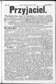 Przyjaciel : pismo dla ludu 1897 nr 50