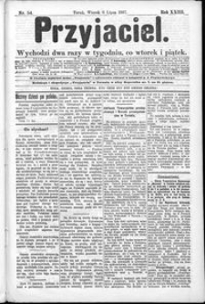 Przyjaciel : pismo dla ludu 1897 nr 54