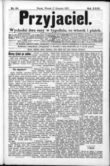 Przyjaciel : pismo dla ludu 1897 nr 66