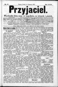 Przyjaciel : pismo dla ludu 1897 nr 67
