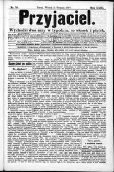 Przyjaciel : pismo dla ludu 1897 nr 70
