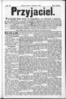 Przyjaciel : pismo dla ludu 1897 nr 75