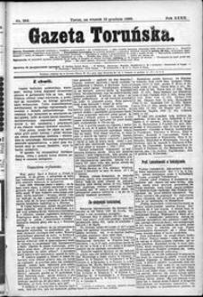 Gazeta Toruńska 1898, Grudzień