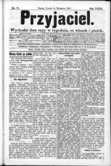 Przyjaciel : pismo dla ludu 1897 nr 77