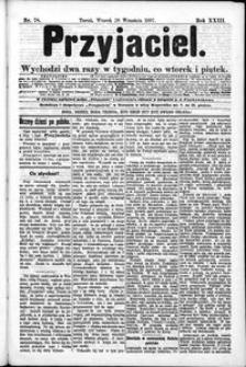 Przyjaciel : pismo dla ludu 1897 nr 78