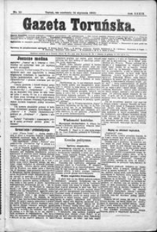Gazeta Toruńska 1900, R. 34 nr 10