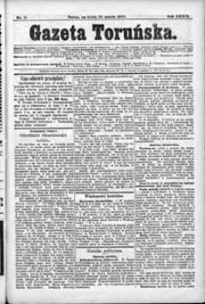 Gazeta Toruńska 1900, R. 34 nr 71