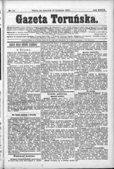 Gazeta Toruńska 1900, R. 34 nr 88