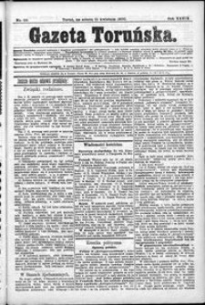 Gazeta Toruńska 1900, R. 34 nr 90