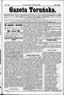Gazeta Toruńska 1896, R. 30 nr 178