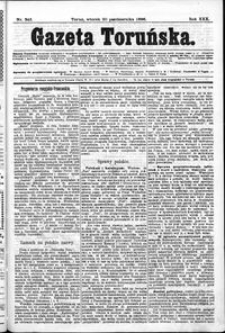 Gazeta Toruńska 1896, R. 30 nr 243